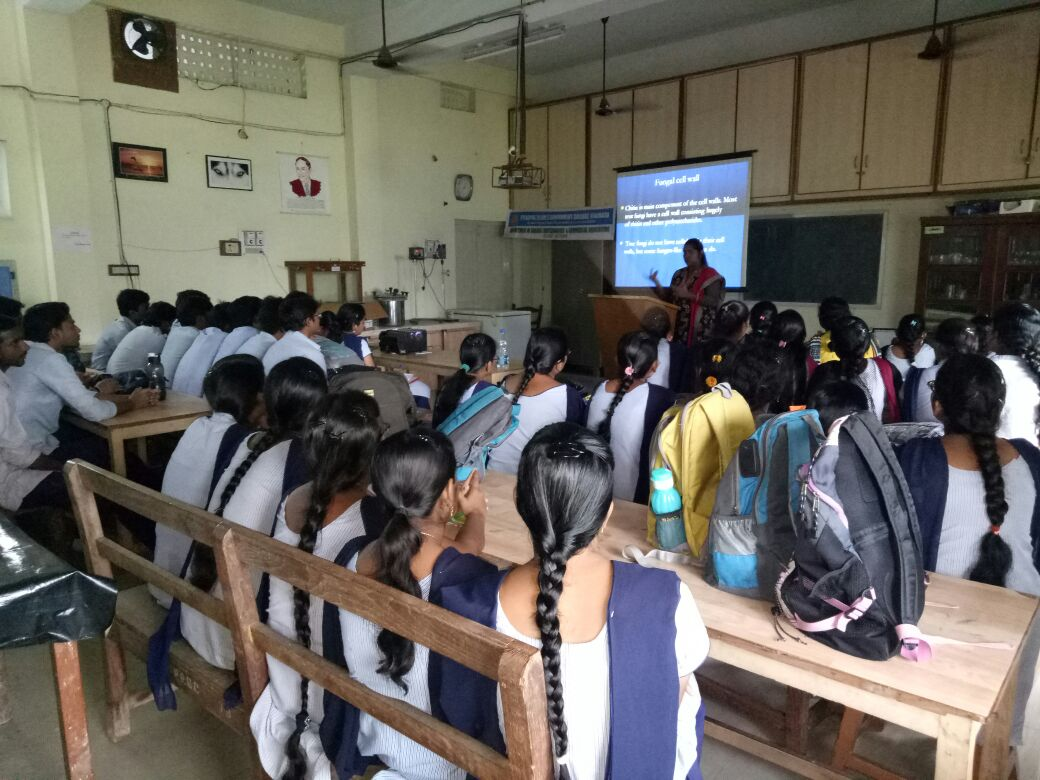 Guest Lecture by A. Rama Devi - 19-08-2017