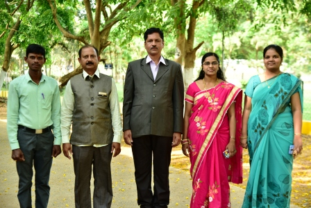 Department of English with the Vice Principal Dr.T.K.V.Srinivasa Rao