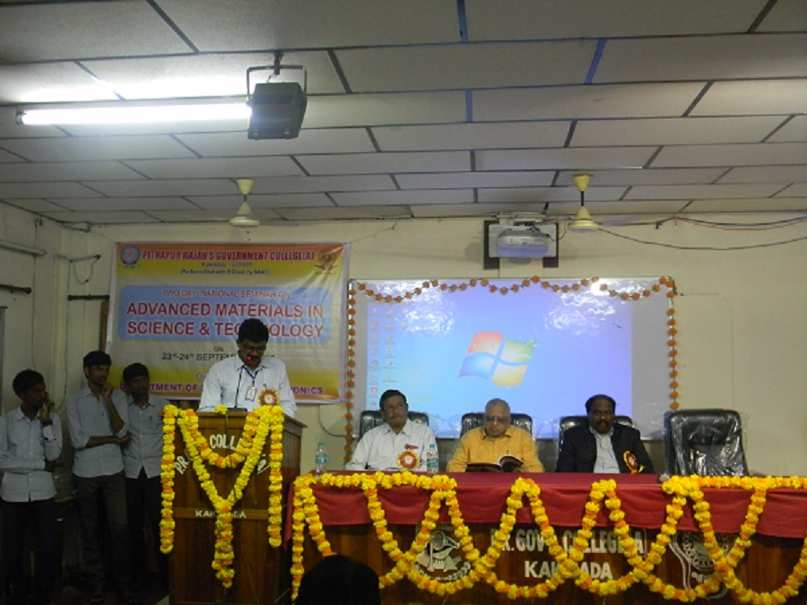 National Seminar on  Advanced Materials in Science and Technology