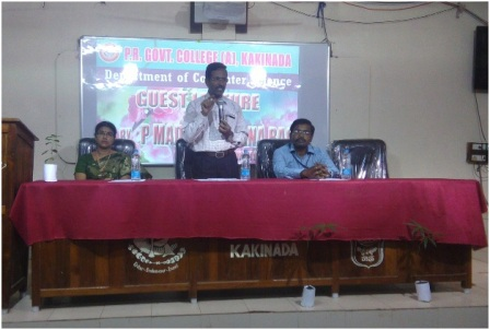 "Guest Lecture on ""Digital Literacy"""