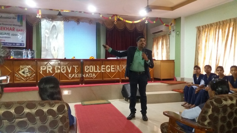 GUEST LECTURE ON CAREER GUIDANCE