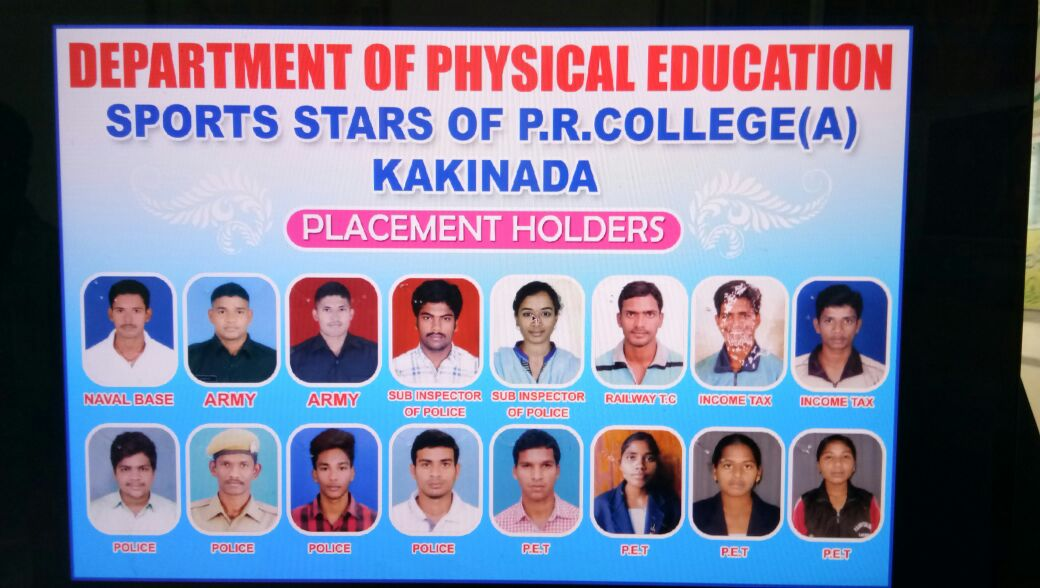 Placement Holders & Dept